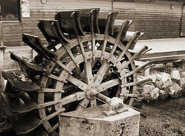 Mill Wheel Water Aquatic Waterwheel Energy Vigor M