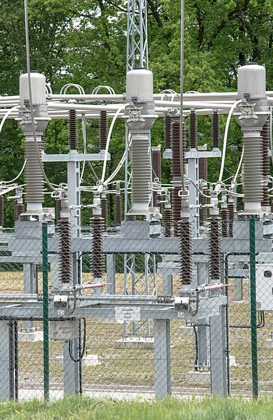 Substation Energy Vigor High Voltage Cable Current
