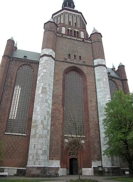 Stralsund Church Ecclesiastical Mecklenburg Wester