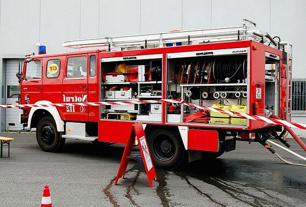 Fire Passion Löschzug Feuerloeschuebung Fire Truck