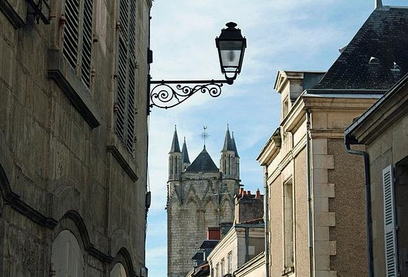 Street Light French Street Church Tower Church Tow