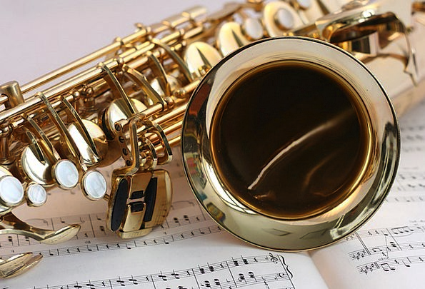 Saxophone Melody Gold Gilded Music Classical Music