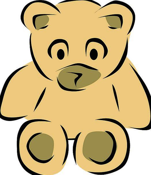 Teddy Tolerate Fluffy Fleecy Bear Furry Toy Soft D