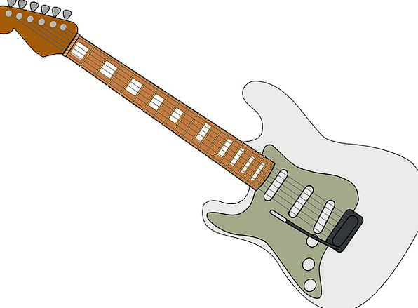 Fender Fireguard Guitar Electric Guitar Band Group