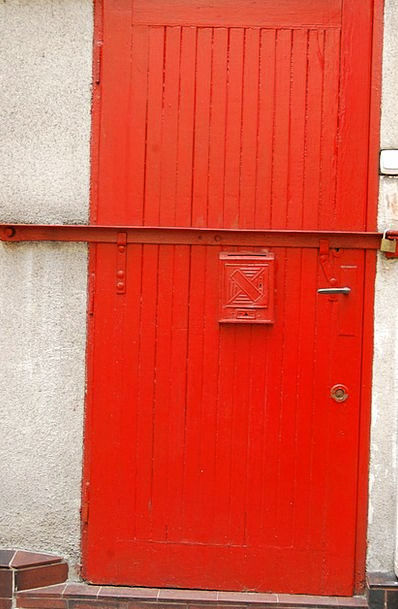 The Door Buildings Bloodshot Architecture Poznan R
