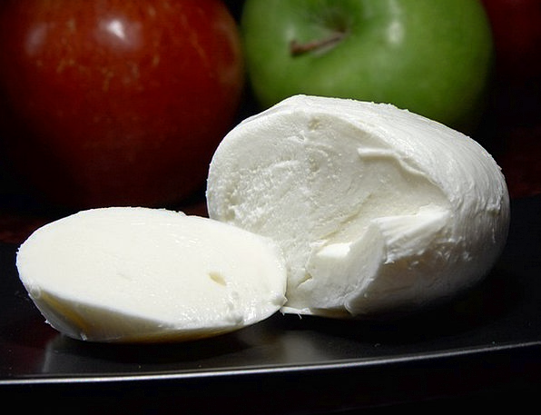 Mozarella Drink Food Cheese Italian Albuminous Mil