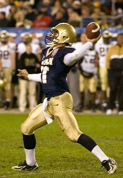 Quarterback Pass Permit American Football Sport Di