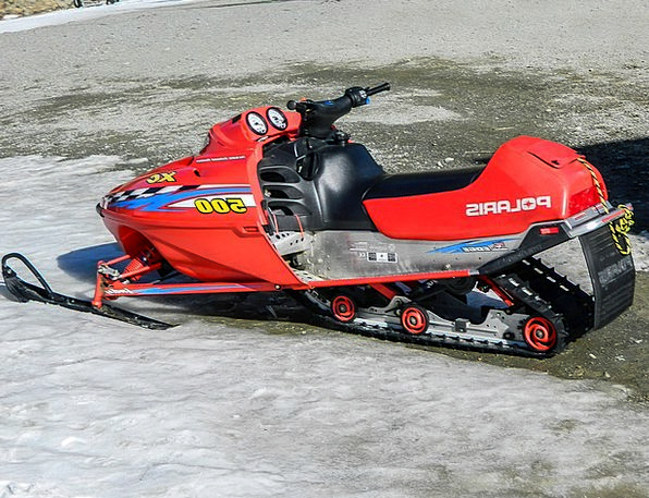Snowmobile Traffic Motorized Transportation Snow S