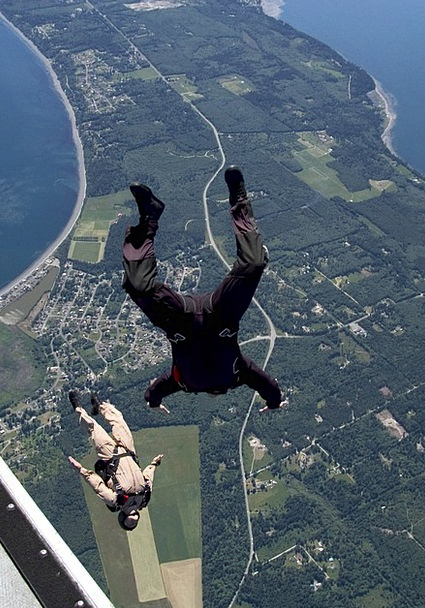 Whidbey Island Vacation Travel Skydiving Free-fall