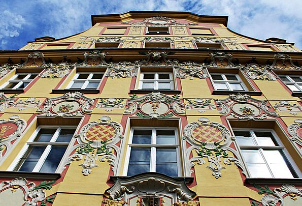 Facade Frontage Buildings Architecture Perspective