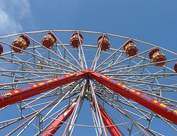 Ferris Wheel Commotion Folk Festival Hustle And Bu