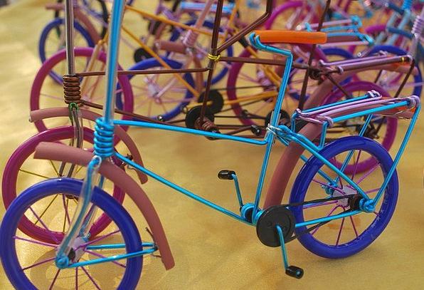 Handicraft Craft Pointer Crafted Made Hand Bike Mo