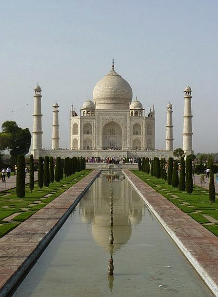 Taj Mahal Tomb Catacomb India