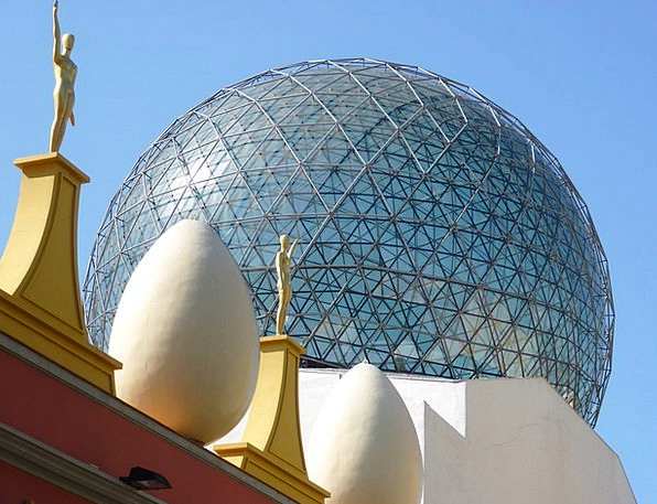 Egg Ovum Buildings Architecture Golden Excellent F