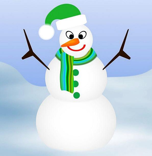 Snow Man Traffic Transportation Scarf Muffler Long
