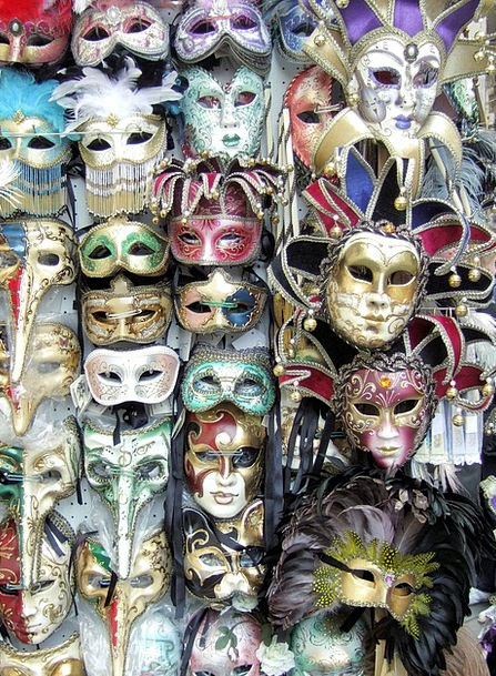 Masks Covers Carnival Festival Venice