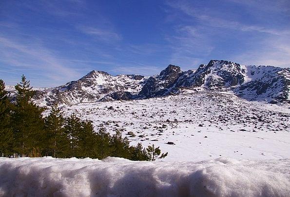 Snow Snowflake Landscapes Nature Winter Season Ser