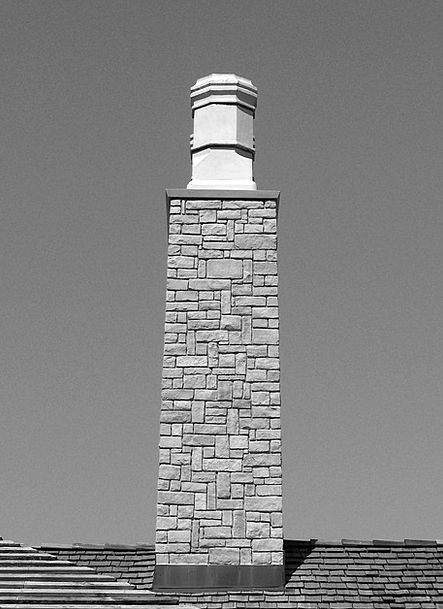 Chimney Funnel Buildings Pebble Architecture Firep