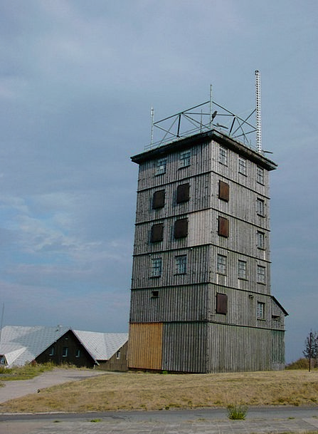 Ddr Watchtower Lookout tower Former Border Tower T