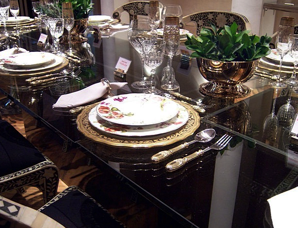 Dining Table Banquet Appliance Of Dinner Dinner Di