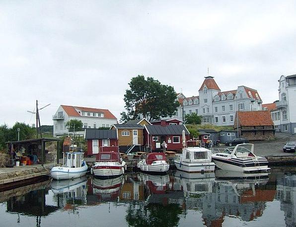 Port Harbor Ships Bornholm Boats