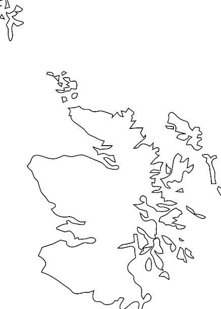 Scotland Geography Topography Great Britain Irelan