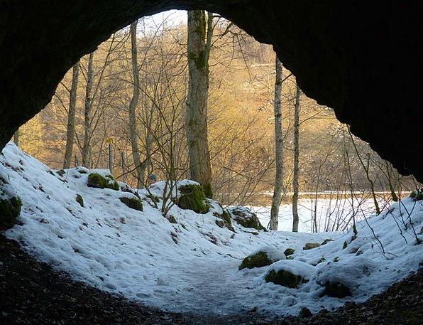 Cave Cavern Caves Portal Cave Entrance Hohlenstein