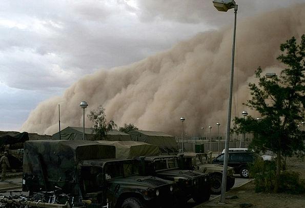 Sandstorm Camp Desert Reward Military Camp Forward