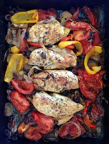 Chicken Cowardly Drink Kiln Food Peppers Sprinkles