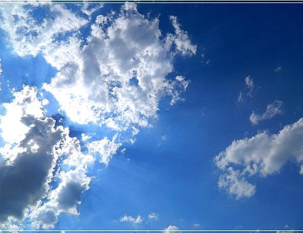 The Sky Blue The Clouds Sky