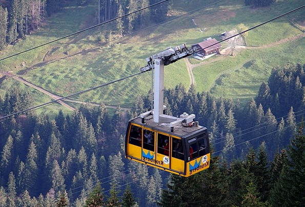 Cable Car Lift Boost Gondola Alpine Mountainous Al