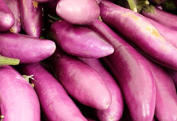 Eggplant Potatoes Healthy Fit Vegetables