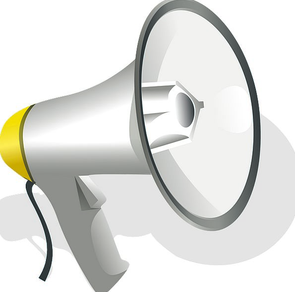 Loudspeaker Megaphone Complete Speaker Utterer Sou