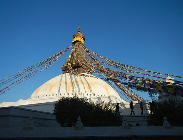 Stupa Pray Request Nepal Prayer Prayer Flags Buddh