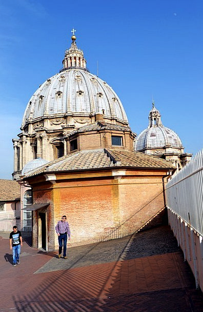 The Dome Chapel Sanctuary The Vatican Italy