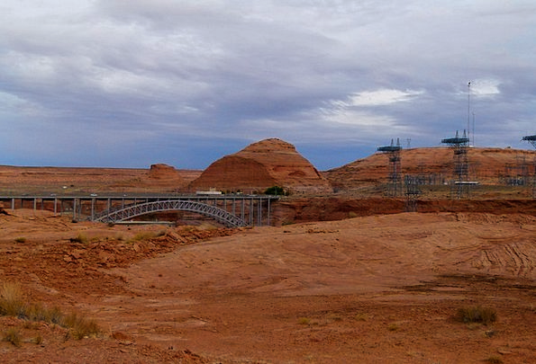 Glen Canyon Landscapes Nature Power Plant Power Po