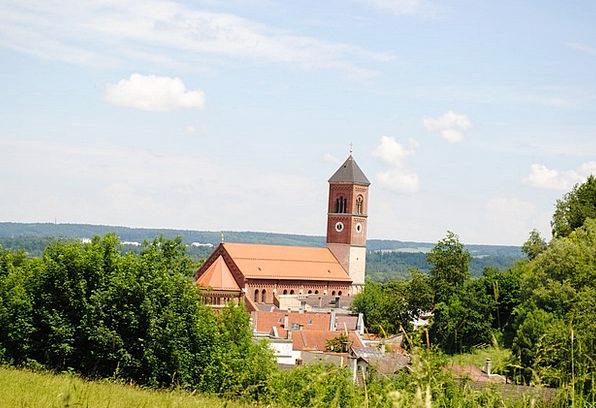 Kraiburg Am Inn Upper Bavaria Parish Church Small