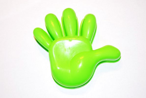 Model Perfect Pointer Plastic Malleable Hand Green
