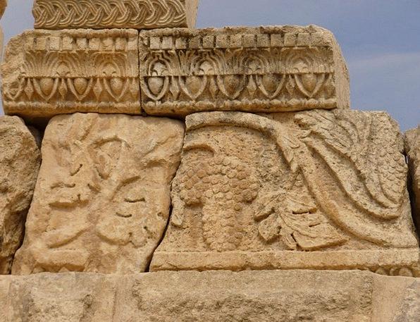 Temple Of Artemis Vacation Travel Jerash Gerasa Jo