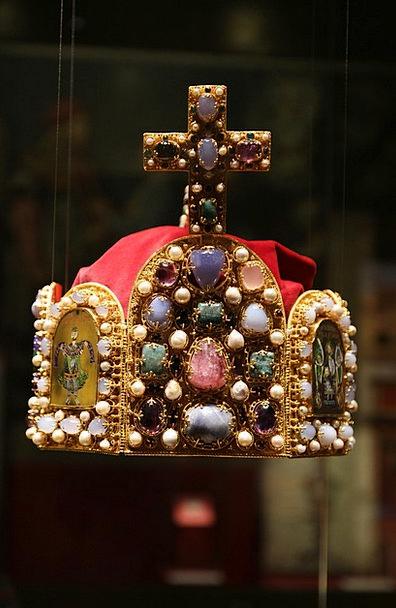 Crown Top Nuremberg Imperial Crown Middle Ages Emp