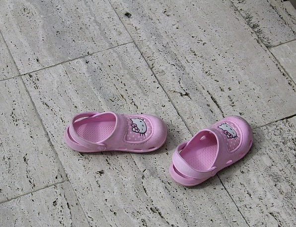 Shoes Flushed Small Minor Pink Feet Child Youngste