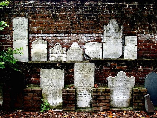 Head Stones Monuments Places Savannah Grassland Ci