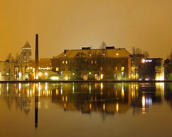 Oulu Buildings Architecture City Urban Finland Sky