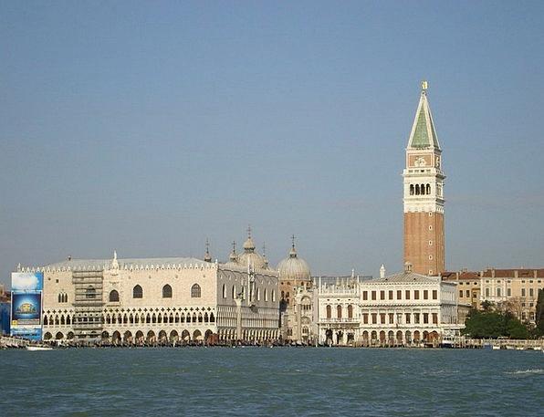 Venice Italy Piazza San Marco Church Ecclesiastica