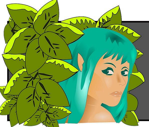 Elf Pixie Female Elf Elven Girl Elf Fairytale Fant