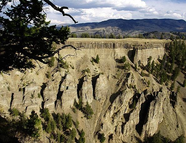 Hoodoos Landscapes Nature Wyoming Yellowstone Nati