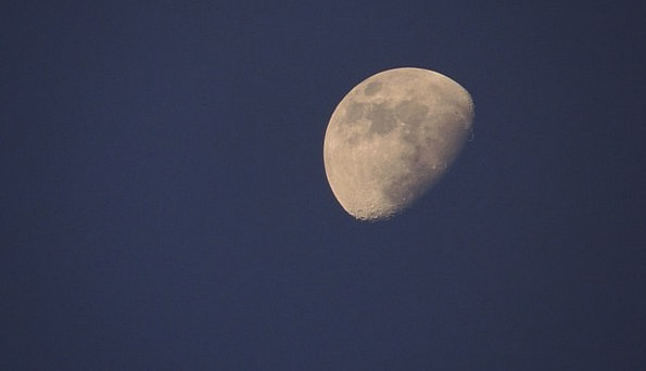 Moon Romanticize Late Full Zoom At Night Night Sky