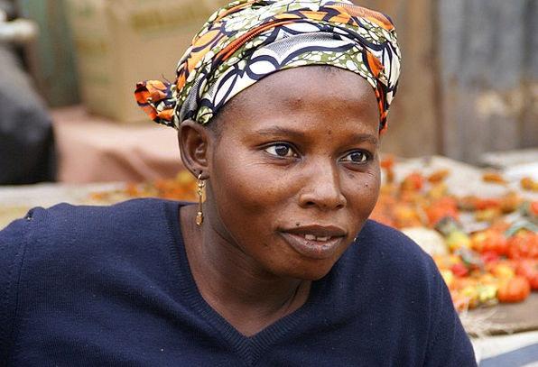 Gambia Fashion Marketplace Beauty Woman Lady Marke