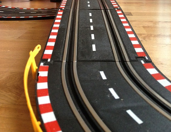 Racecourse Track Production Slot Car Play Toys Dol