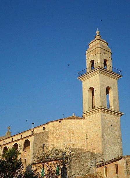 Church Ecclesiastical Mallorca Steeple Mediterrane
